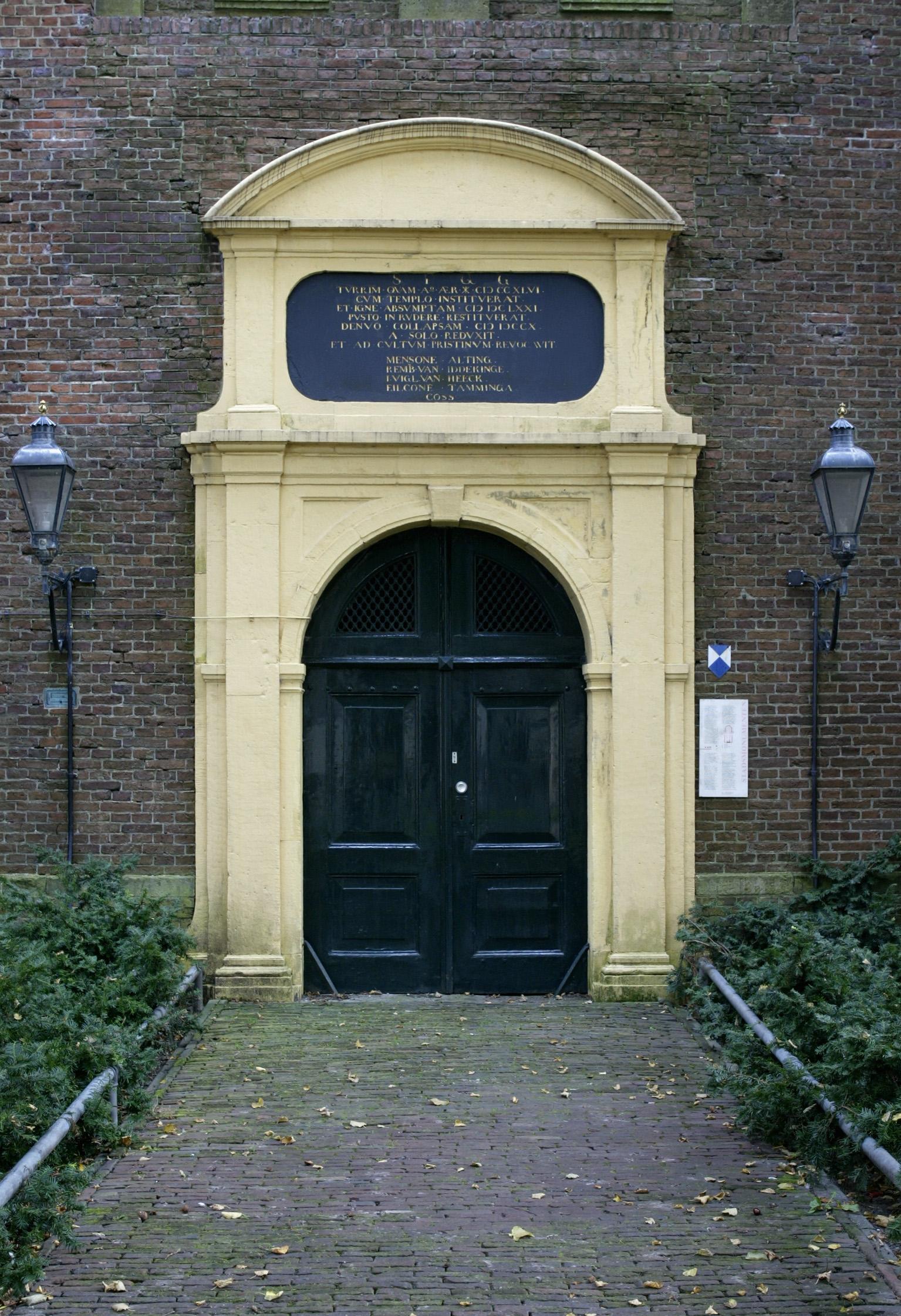 GRONINGEN / 2-10-2002 / AA-kerk, interieur/ foto Omke Oudeman