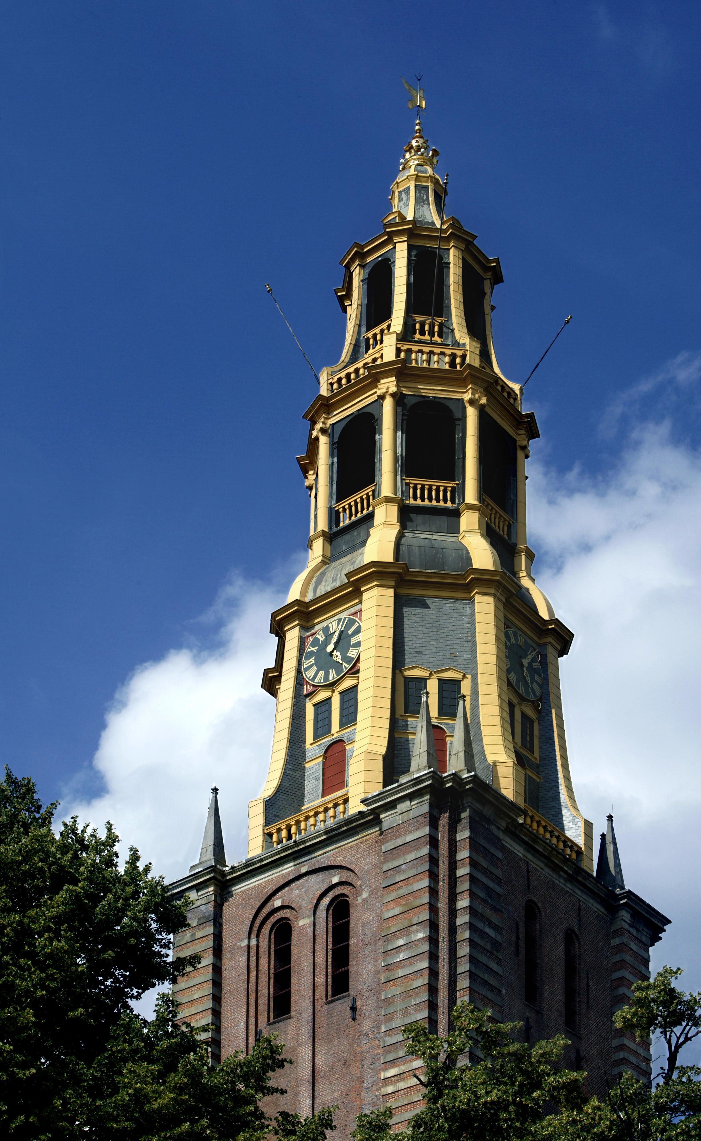 Foto Der Aa-kerk, toren. Fotograaf Omke Oudeman